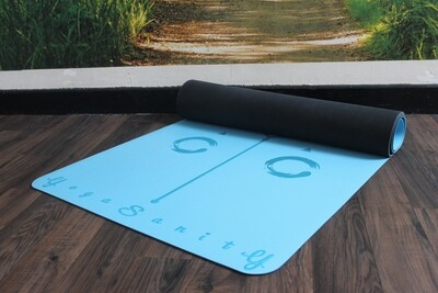 Yogasanity Exercise Mat - PU Natural Rubber