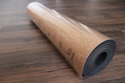Yogasanity Exercise Mat - TPE Cork
