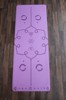 Yogasanity Exercise Mat - PU Natural Rubber