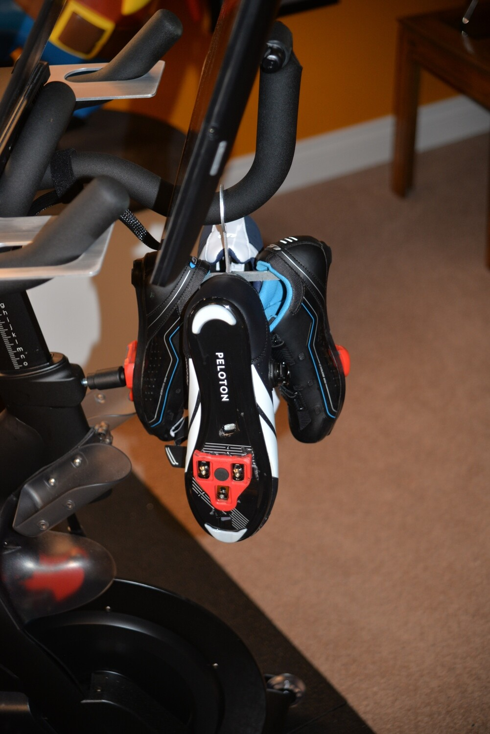 Shoe Holder For Peloton Bikes