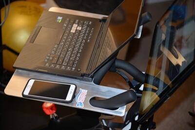 Work Station For Peloton Exercise Bike