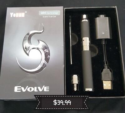 The Yocan Evolve Dual Quartz Wax Pen
