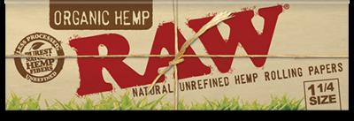 RAW Organic Hemp 1ÂĽ