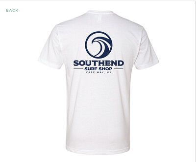 Southend Surf Shop T-Shirt (WHITE)
