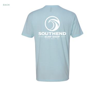 Southend Surf Shop T-Shirt (ICE BLUE)
