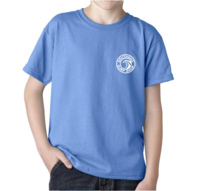 Youth Southend Surf Shop T-Shirt (CAROLINA BLUE)