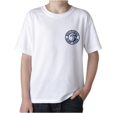 Youth Southend Surf Shop T-Shirt (WHITE)