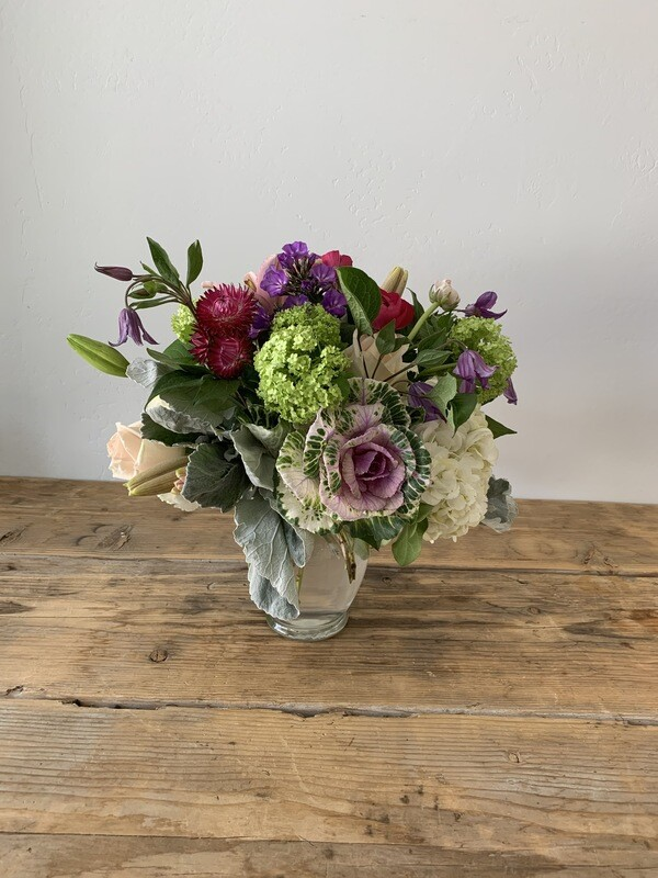 Classic full and lush bouquet