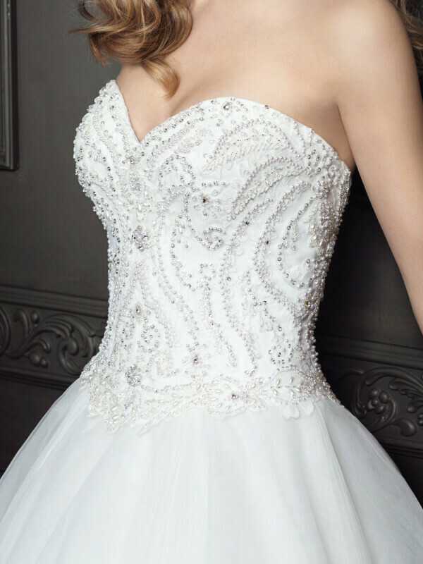 Kenneth Winston wedding dress BE351 size 10