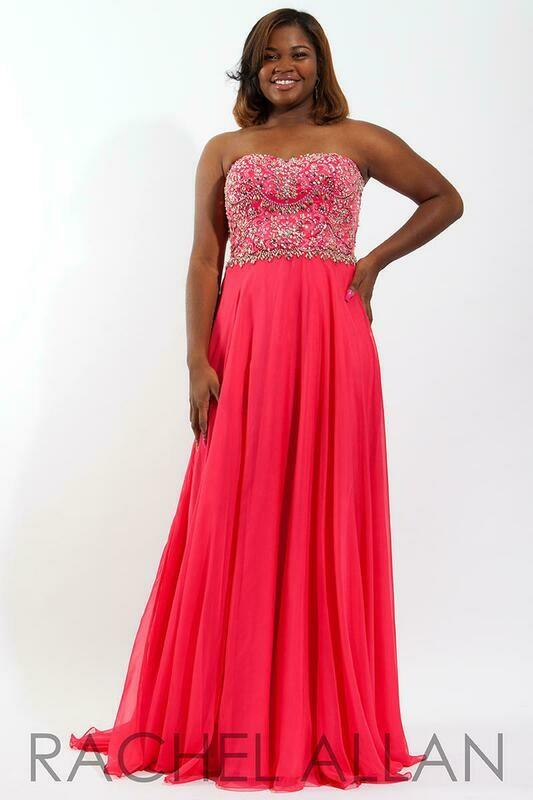 Rachel Allan style 7826 size 22w