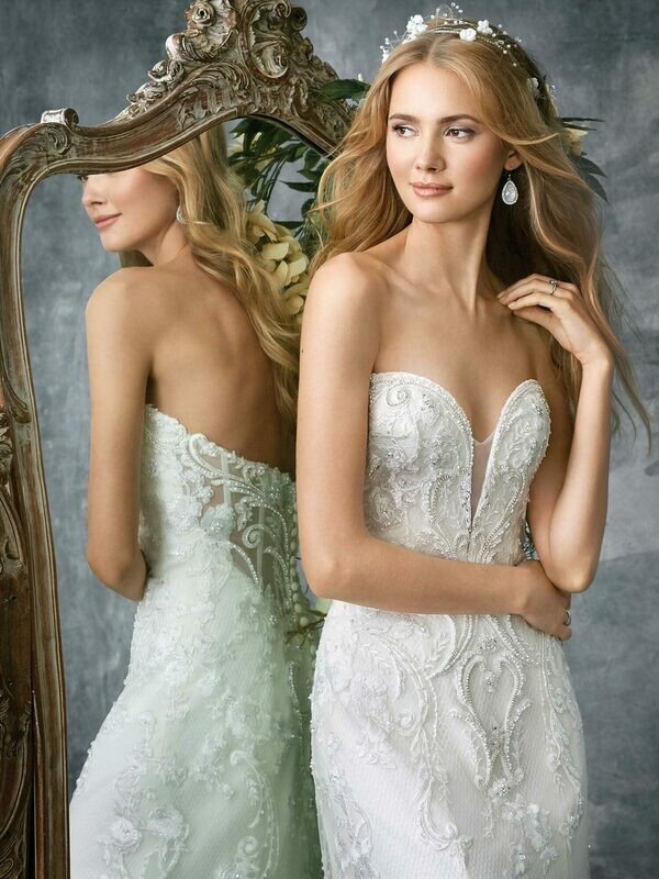 Kenneth Winston wedding dress 1781 size 16