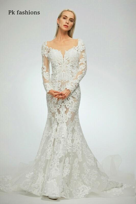 Kp Fashions lace wedding dress size 12