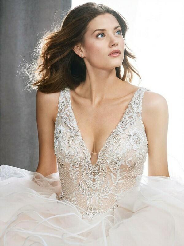 Kenneth Winston wedding dress 1718 size 16