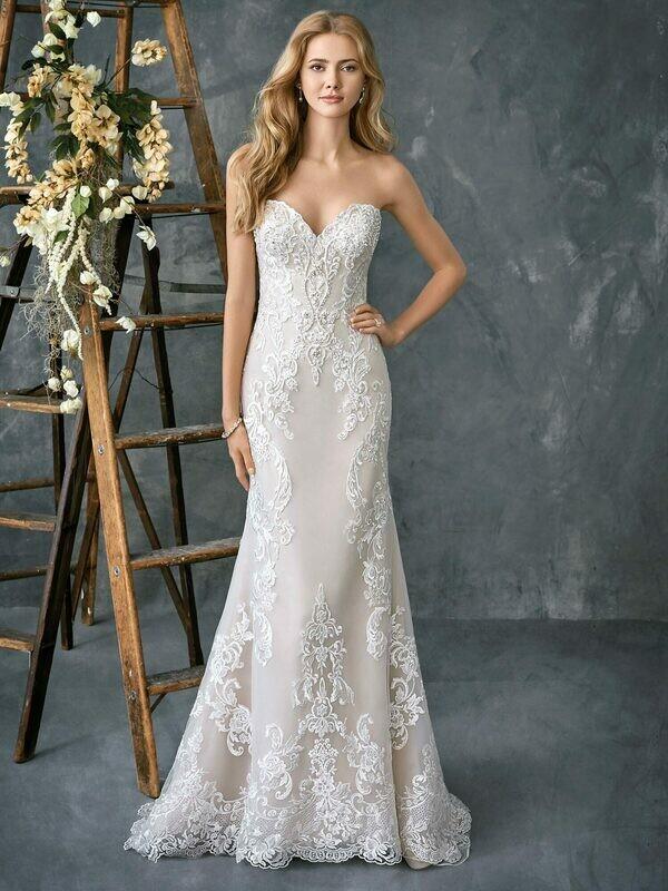 Kenneth Winston wedding dress 1775 size 16