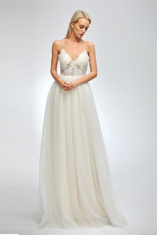 Pk fashions  wedding dress 15460 size 12