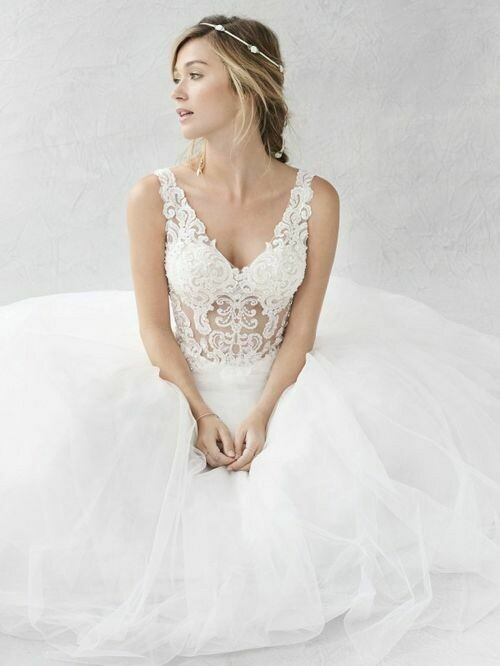 Kenneth Winston wedding dress BE363 size 14