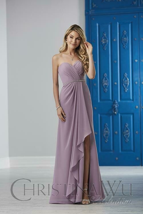 Christina Wu 22839 in lilac size 24