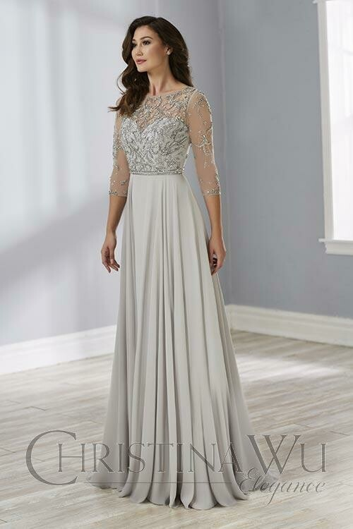 Christina Wu mother of the bride dress 17891 size 16