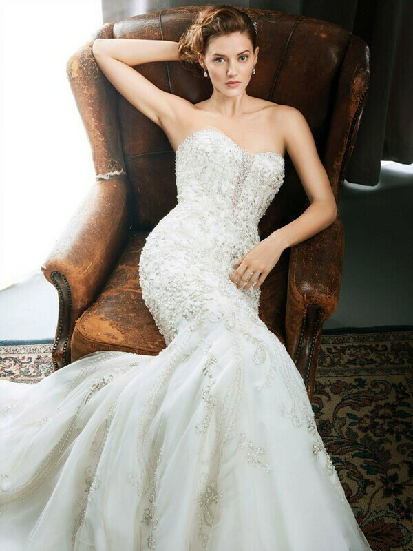 Kenneth Winston wedding dress 1720 size 16