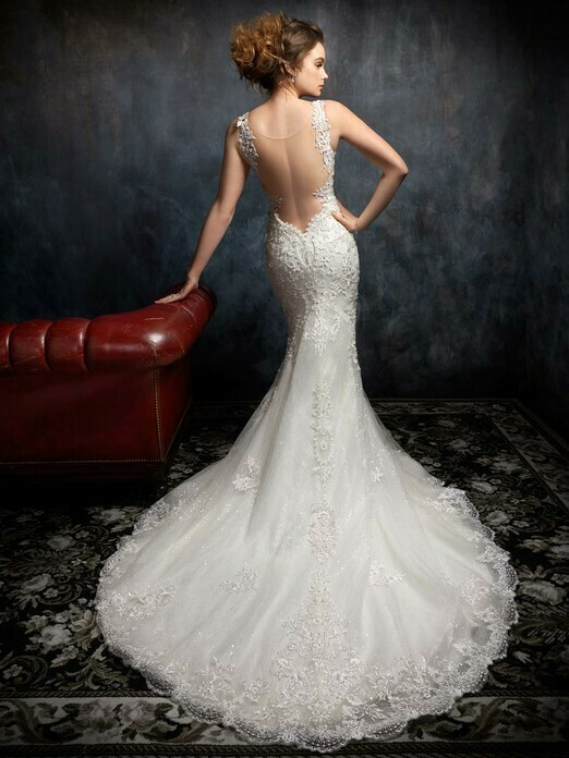 Kenneth Winston wedding dress 1751 size 16