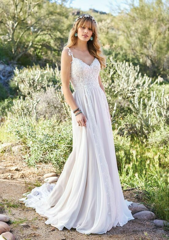 Lillian West wedding dress 6510 size 14