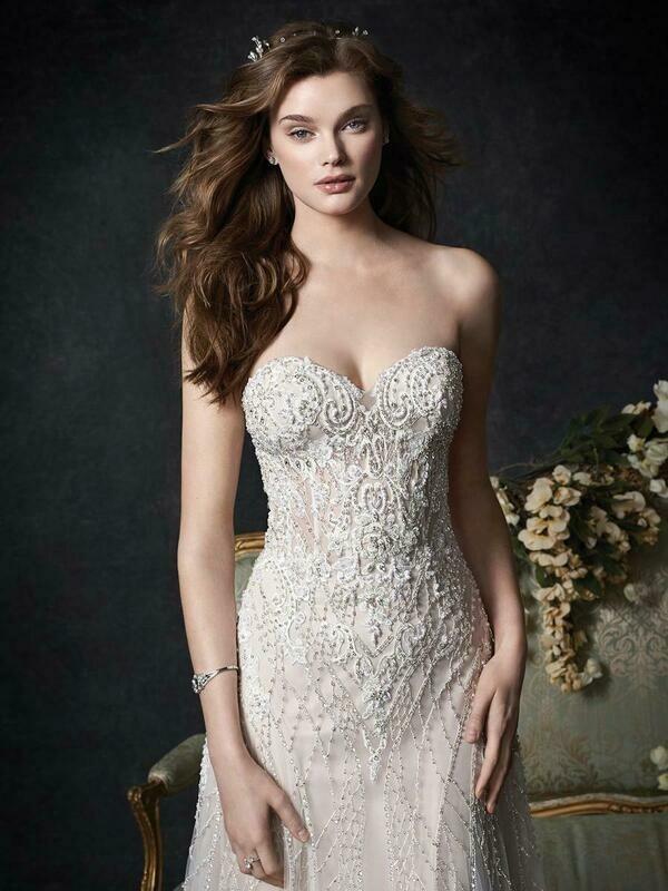 Kenneth Winston wedding dress 1760 size 16