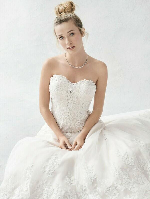 Kenneth Winston wedding dress BE388 size 14