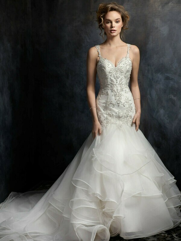 Kenneth Winston wedding dress 1756 size 14