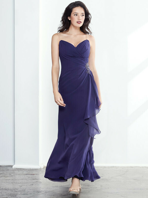 Kenneth Winston Colour dress 5288 in color RUST