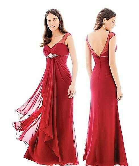 Kenneth Winston Colour dress 5202 size 16