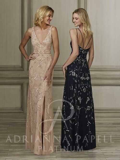 Adrianna Papell mother of the bride dress 40138