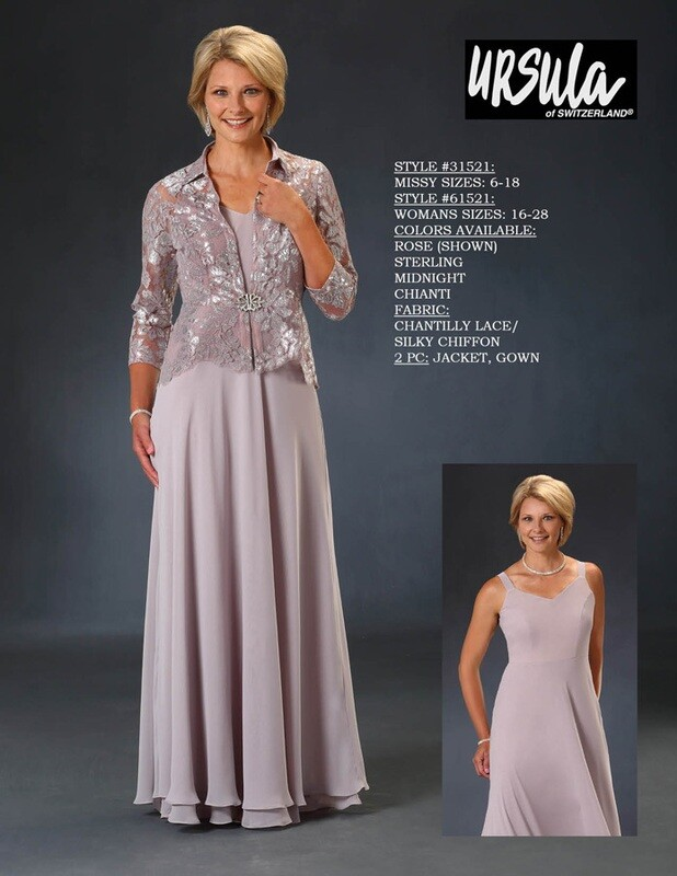 Ursula of Switzerland dress 31521