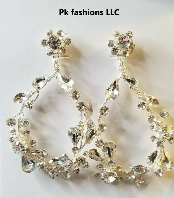 Bel Aire EA281 chandelier earrings