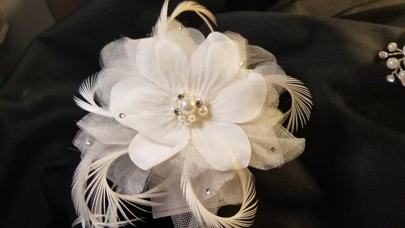 Bridal Floral Hair Clip
