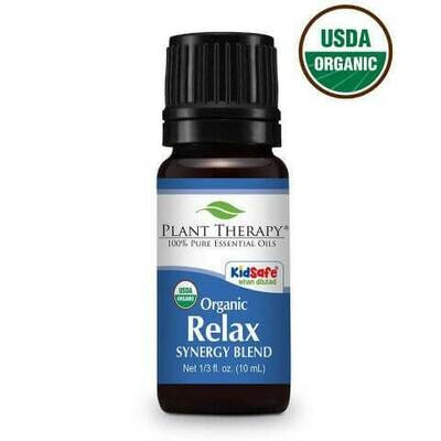 Relax Synergy Essential Oil 10mL