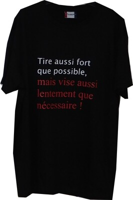 T-Shirt soutien XS
