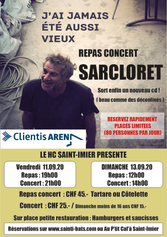 Dimanche Repas / Concert moins 16 ans