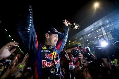 Sebastian Vettel - India 2013