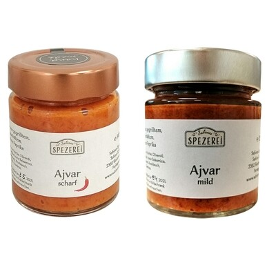 Ajvar Set scharf & mild