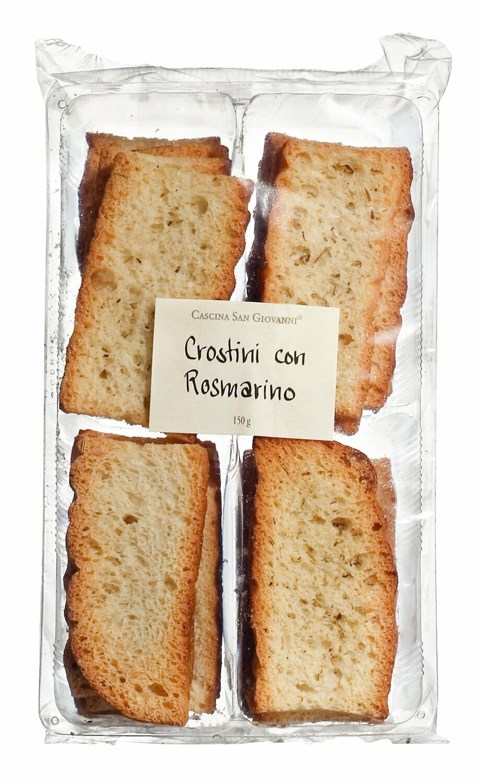 Crostini con rosmarino