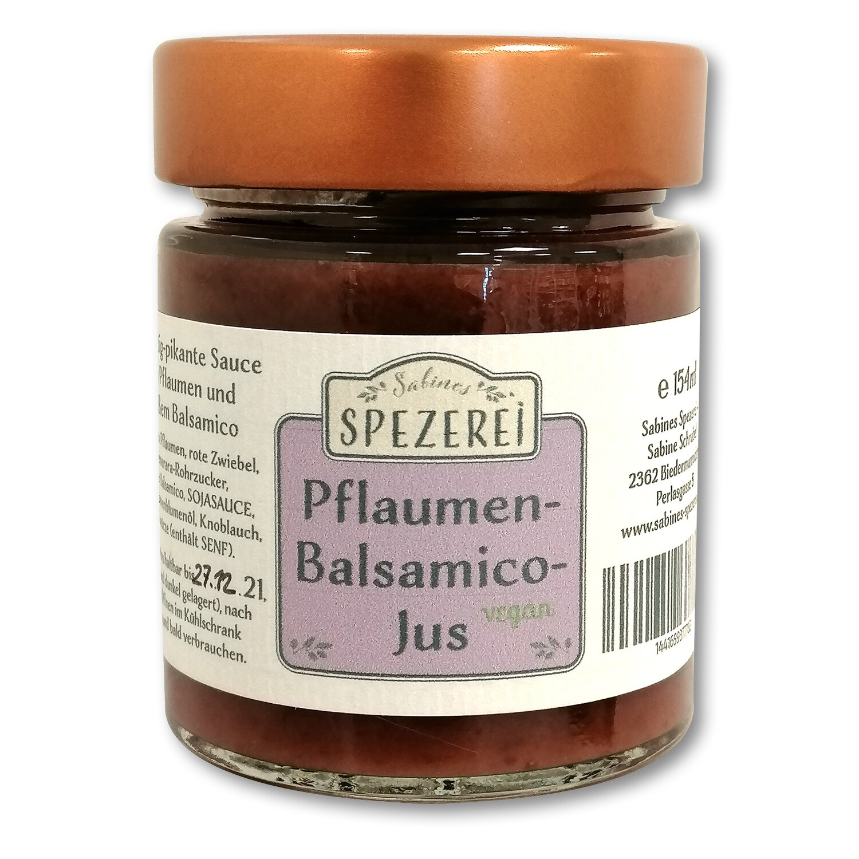 Pflaumen-Balsamico-Jus