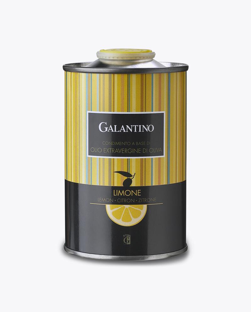Natives Olivenöl extra mit Zitrone, Dose - Galantino