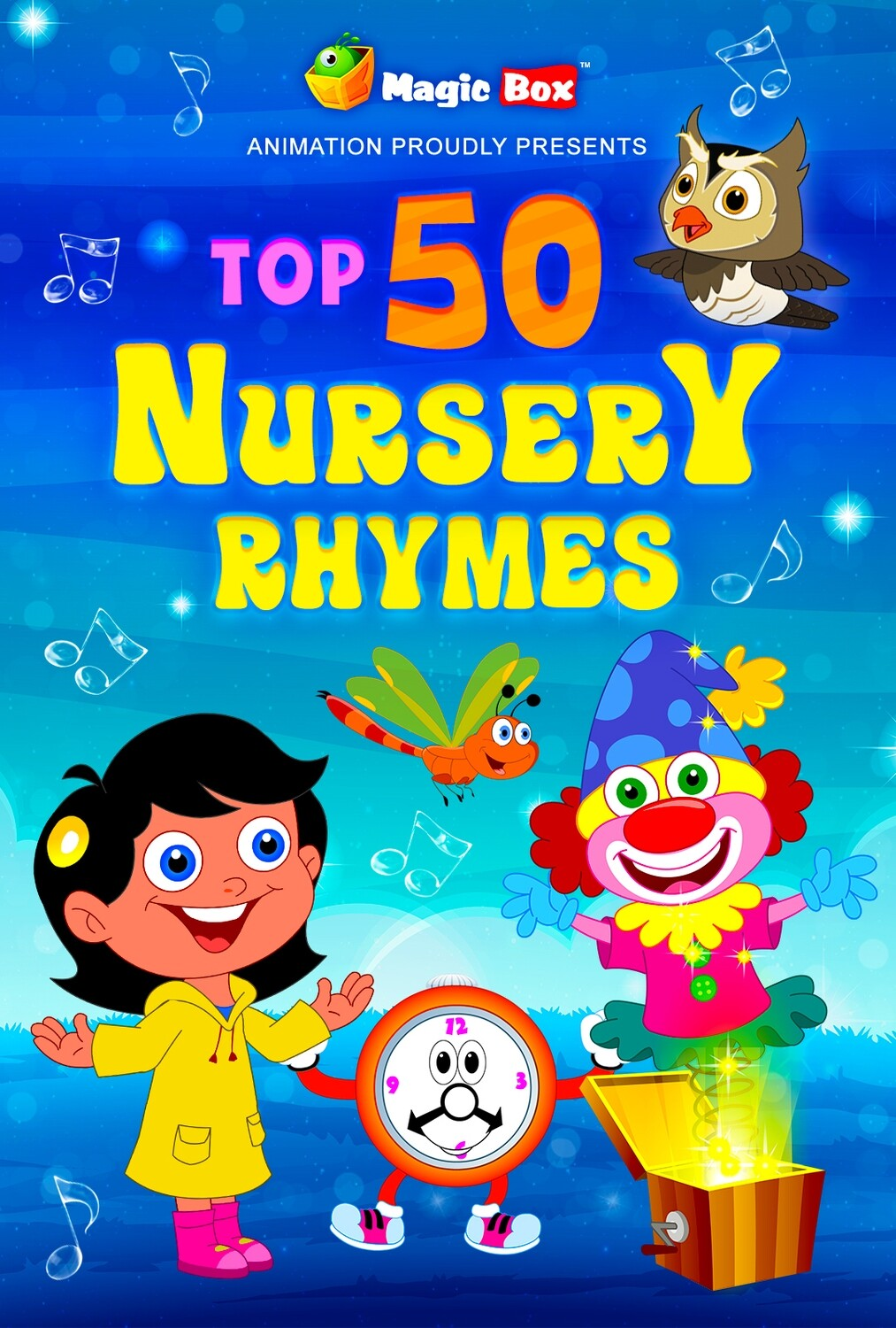 Top 50 English Nursery Rhymes