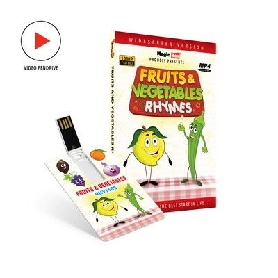 Fruits and Vegetables Rhymes