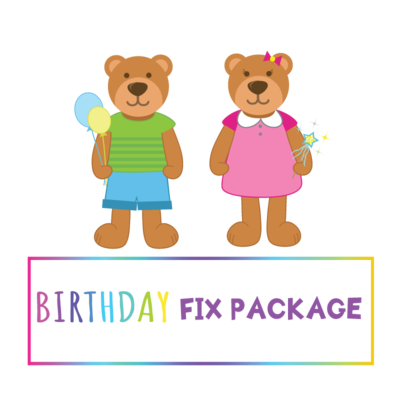 Birthday Fix Package