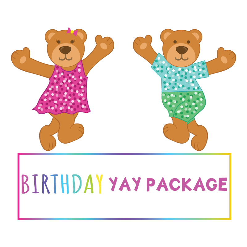 Birthday YAY Package- Friday