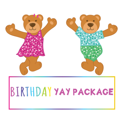 Birthday YAY Package - Saturday to Thursday