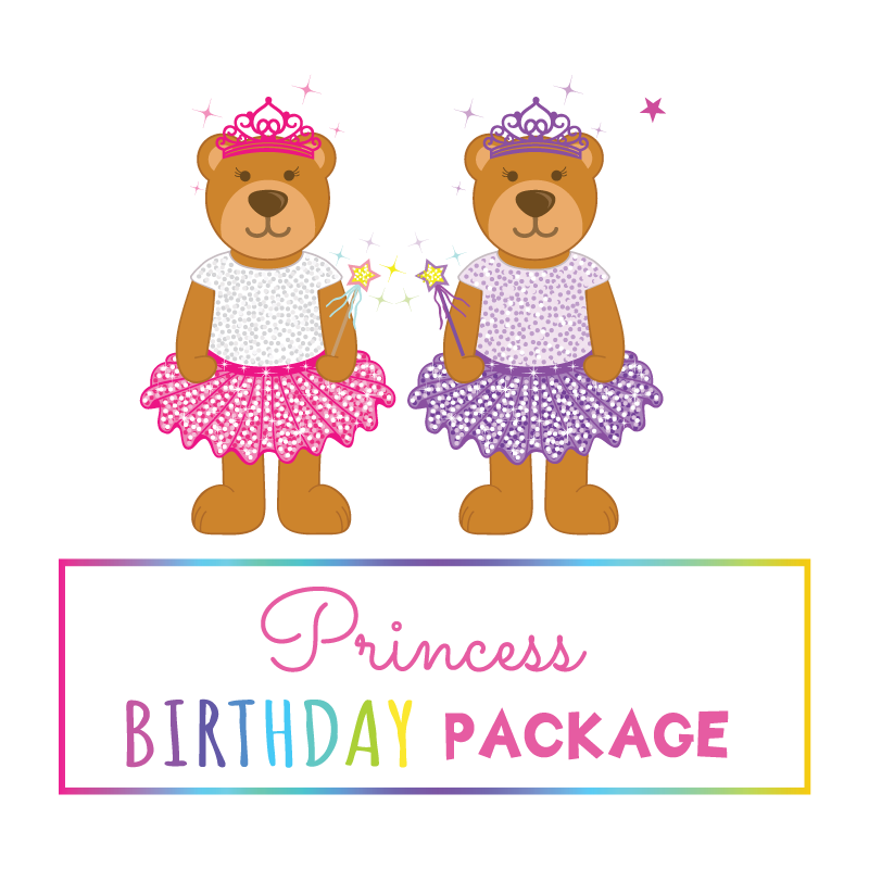 Princess Birthday Package - Friday