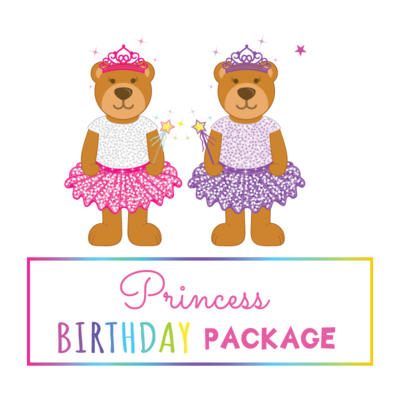 Princess Birthday Package- Saturday to Thursday