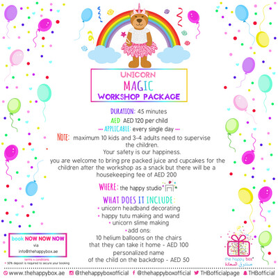 Unicorn Madness Workshop Package